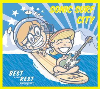 sonic surf city cover anthology vol 2
