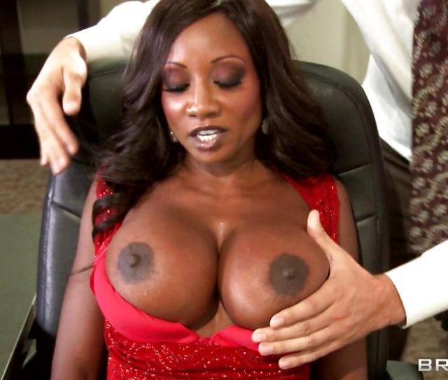 Diamond Jackson Keiran Lee In Hot Black Babe Gets Her Tits Licked Hd From Brazzers Big Tits At Work