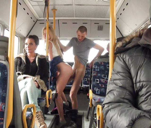Lindsey Olsen In Fucking A Blonde Right In The Public Bus Hd From Mofos Network Mofos B Sides