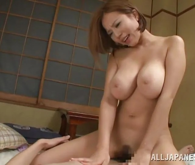 Ruri Saijoh In Big Breasted Japanese Slut Rides Her Mans Cock Hd From All Japanese Pass Big Tits Tokyo