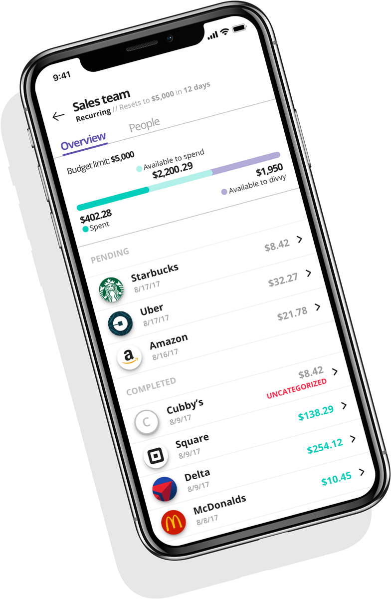 Divvy Expense and Budget Management Automated Platform