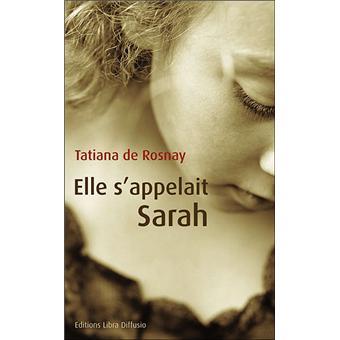 Elle sappelait Sarah  broch  Tatiana de Rosnay  Achat