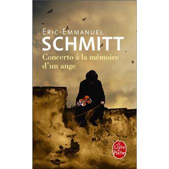 Concerto à La Mémoire D'un Ange : concerto, mémoire, Concerto, Mémoire, D'un, Poche, Eric-Emmanuel, Schmitt, Achat, Livre