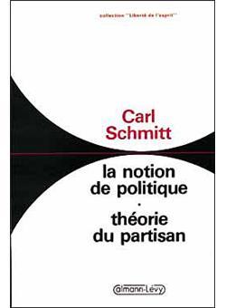 CARL SCHMITT THEORIE DU PARTISAN PDF