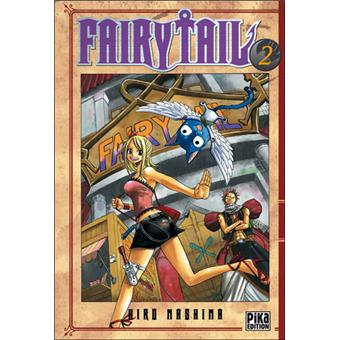 Fairy Tail  Tome 2  Fairy Tail  Hiro Mashima Broché
