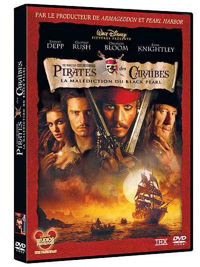 Regarder Pirates Des Caraibes 1 : regarder, pirates, caraibes, Pirates, Caraïbes, Malédiction, Black, Pearl, Achat