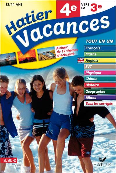 Cahier De Vacances 4eme Vers La 3eme : cahier, vacances, Cahier, Vacances