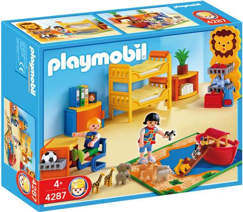 playmobil 4287 chambre des enfants playmobil