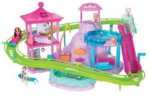 Mattel Polly Pocket Parc dattraction  Univers Miniature  Achat  prix Fnac