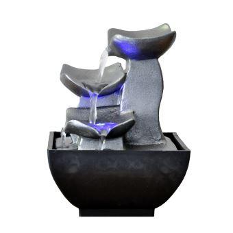 petite fontaine d interieur moderne senzu duro gris