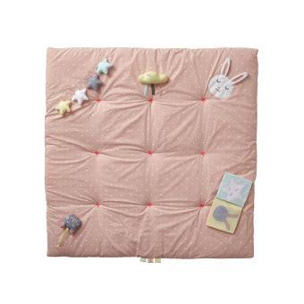 https www fnac com mp42750998 vertbaudet tapis d eveil souple sans arche sweet fun rose imprime tu w 4