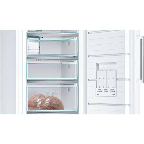bosch serie 6 gsn51awdv congelateur congelateur armoire pose libre largeur 70 cm profondeur 78 cm hauteur 161 cm 286 litres