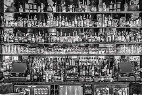 bureau bar noir blanc 61x91 5 cm affiche poster