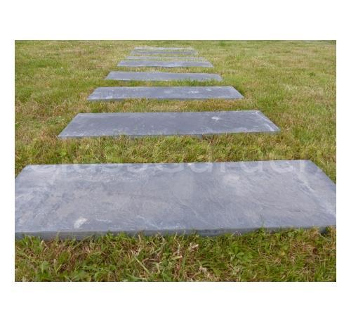 dalle pas japonais rectangulaire 80x30 pack de 10 pieces