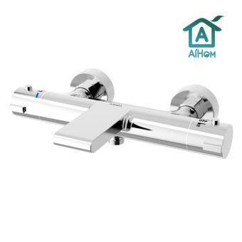mitigeur thermostatique bain douche mitigeur douche chrome avec robinet bec cascade pour baignoire