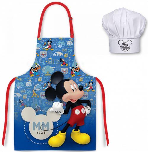 mgs33 tablier enfant bleu chapeau de chef mickey 1928 disney pour enfant tablier de cuisine pour enfants tabliers enfants
