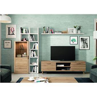 ensemble meuble tv bibliotheque kronos 110