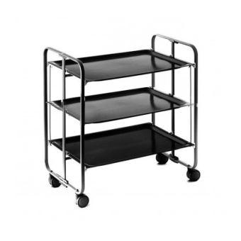table roulante pliante 3 etages chassis