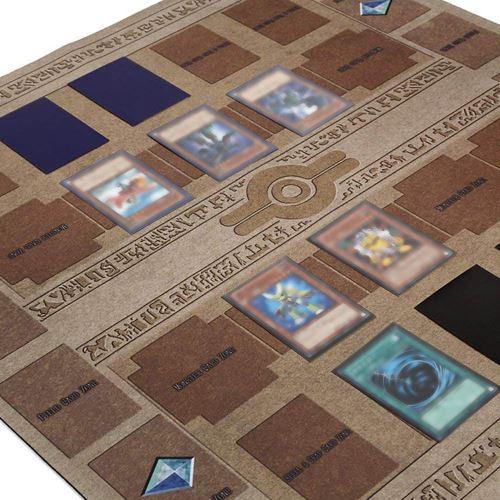 tapis de jeu en caoutchouc 60x60cm galaxy style concours pad playmat pour yu gi oh carte bt970