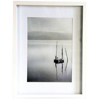 nielsen design cadre photo en bois blanc 30 x 40 cm