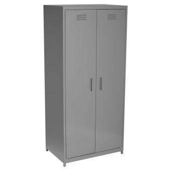 armoire penderie metallique bright