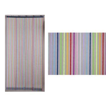 rideau de porte moustiquaire moustirayures 160 x 220 cm