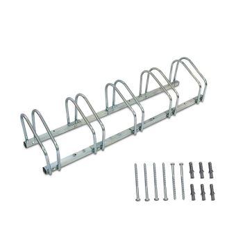 support de rangement velo ratelier familial pour velo peut contenir 5 velos dimensions 132 x 32 x 26 cm