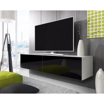 أخت مبني للمجهول مقتصد meuble tv blanc