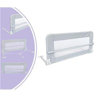 barriere de securite pour lit de bebe barriere de lit pour enfant 1 2 metre s gris materiau tissu en nylon plastique