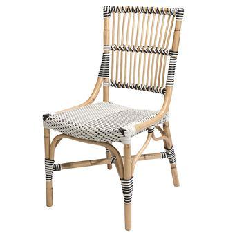 chaise bistrot vigo en polyrotin