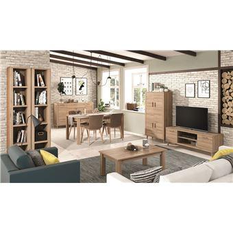 ensemble meuble tv meuble 4 portes table basse 2 etageres colonne table a manger buffet kronos 109plus