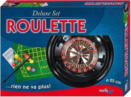jeu de casino roulette 25cm coffret deluxe complet boule jetons tapis de roulette