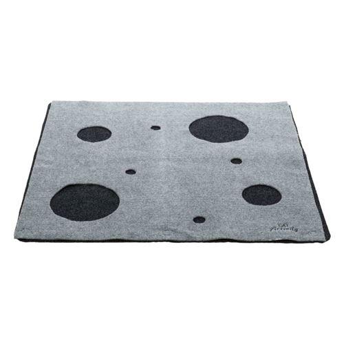 trixie tapis de jeu pour chat adventure carpet gris