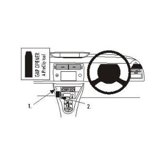 Brodit ProClip Plataforma orientable para salpicadero