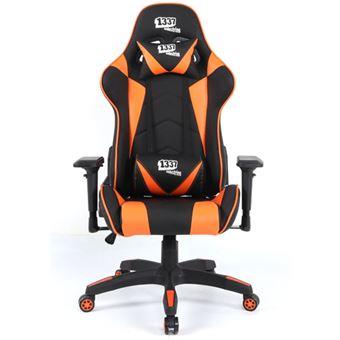 Silla Gaming 1337 Industries GC790 4D Naranja  Negro