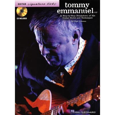 Emmanuel Tommy Guitar Signature Licks + Cd