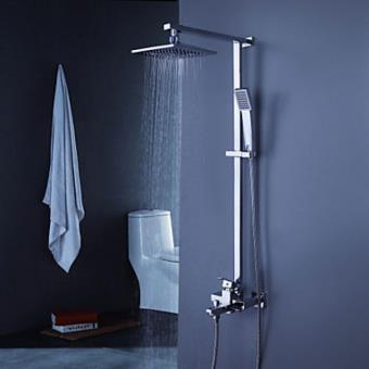 robinet de douche et baignoire contemporain avec pomme de douche 8 douchette a main