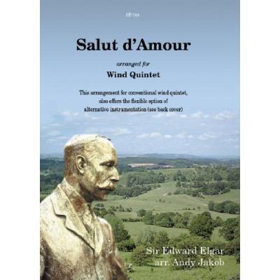 Elgar Edward Salut D´Amour Arrange Pour Quintet A Vent