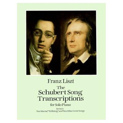 TRANSCRIPTION LIEDER VOL.1 SCHUBERT (AVE MARIA. LE ROI DE