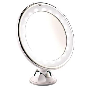 Miroir Grossissant Lumineux Led Avec Ventouse Achat Prix Fnac