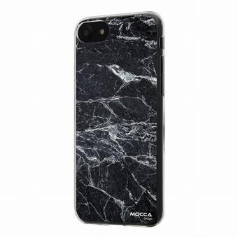 coque iphone 7 crystal marbre noir