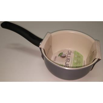 vivalp casserole ceramique 16cm grise