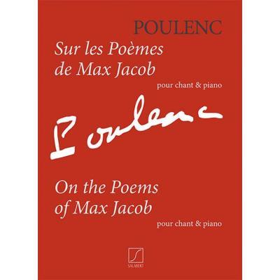Poulenc Francis - Sur Les Poemes De Max Jacob - Voix/Piano