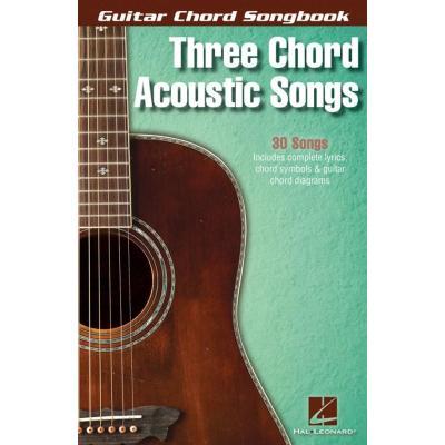 Guitar Chord Songbook 3 Chord Acoustic Songs