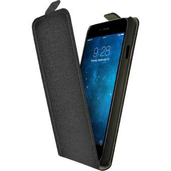 housse iphone 6 coque noir avec rabat
