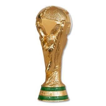 world cup 2014 trophee replique coupe du monde officiel fifa en 3d jaune hauteur 150 mm football achat prix fnac