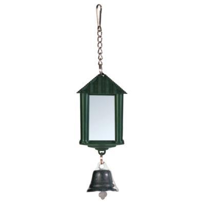 Lanterne Miroir Avec Clochette/Chaîne, 6 Cm - Mon Animalerie