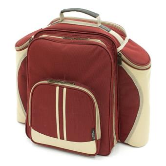 greenfield collection bpsrdh greenfield collection super deluxe sac a dos de pique nique pour personnes rouge mure x cm achat prix fnac