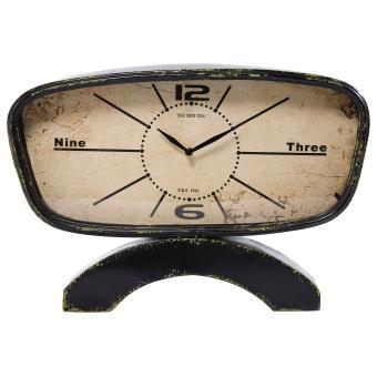 Horloge  poser Noire Vintage Cicuna  Achat  prix  fnac