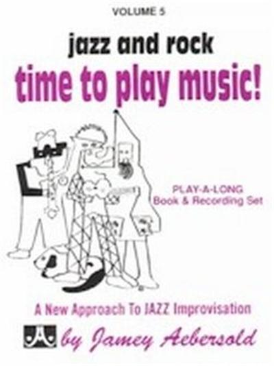 AEBERSOLD 5 PLAY JAZZ/ROCK+CD